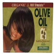 Organic Root Stimulator Olive Oil No-Lye-Relaxer Extra Strength