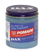 Dax Dry Hair and Scalp Treatment Super Light Pomade