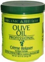 Organic Root Stimulator Professional Olive Oil Creme Relaxer Ext