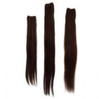 Natural Brazilian Hair Weaving Straight Handmade, 8